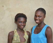 Awa Diédhiou et Diénaba